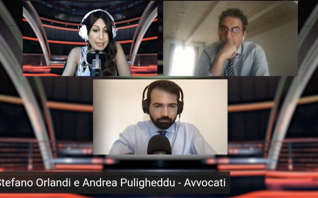 Intervista Radio Regione E-R  (Avv. Orlandi e Avv. Puligheddu)